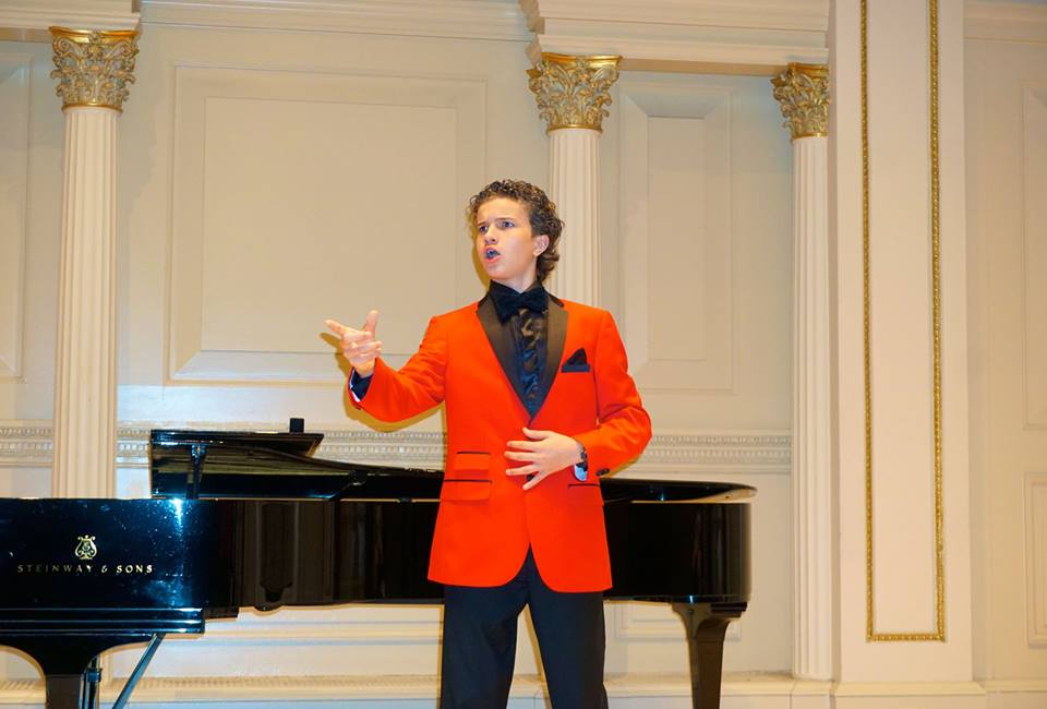 Sheridan performs at Carnegie Hall NYC