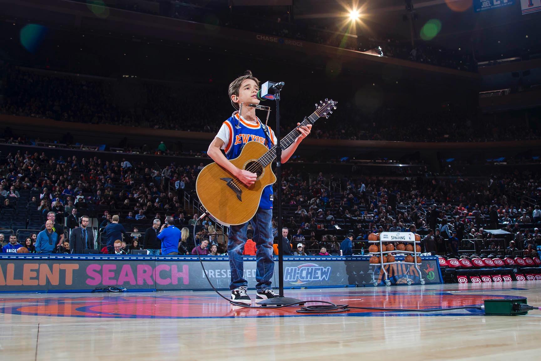 Sam Hurwitz at Madison Square Garden
