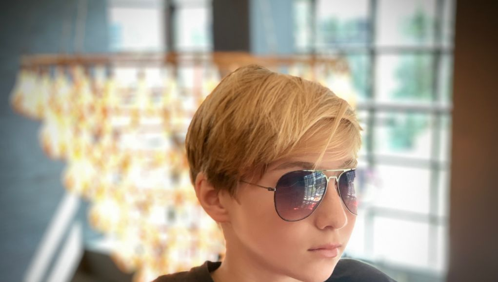 Walker Campbell with sunglasses